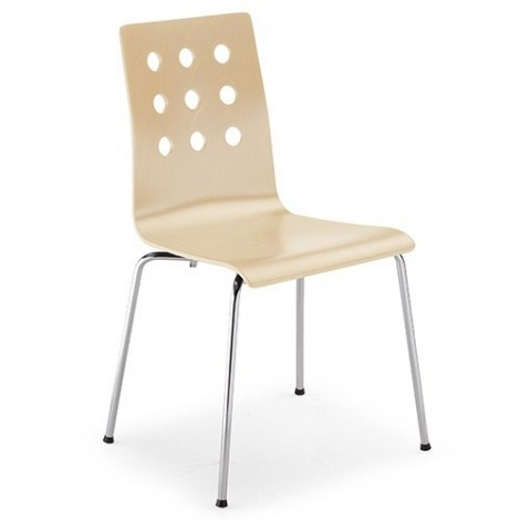 Houten stoel Kiki