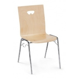 Houten stoel Meeting 2240 (2st.)