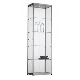 Vitrinekast aluminium 60cm breed