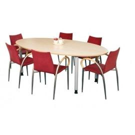 Bisley vergadertafel V-Desk