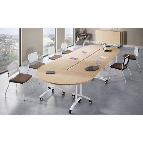 Verrijdbare vergadertafel