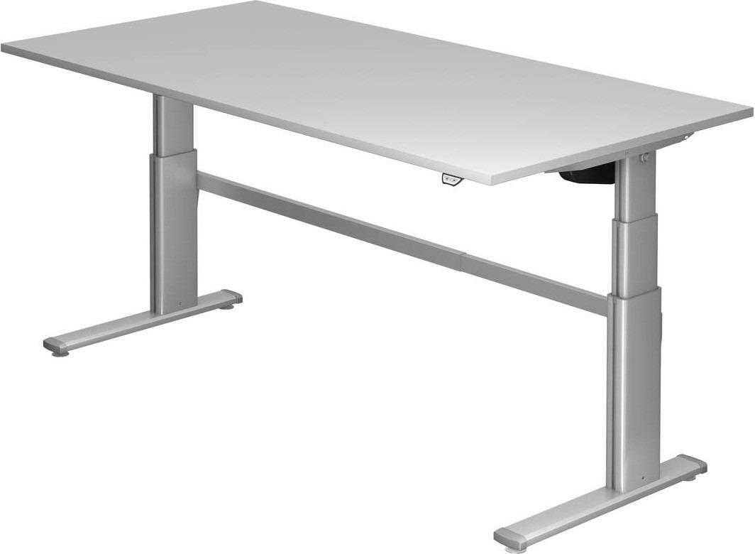 Hoogteverstelbaar bureau serie hvvxd 2000 x 1000 mm