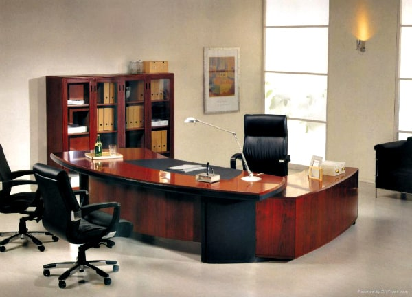houten kantoor