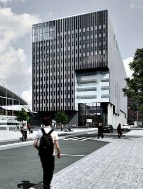 multifunctioneel kantoorgebouw leiden