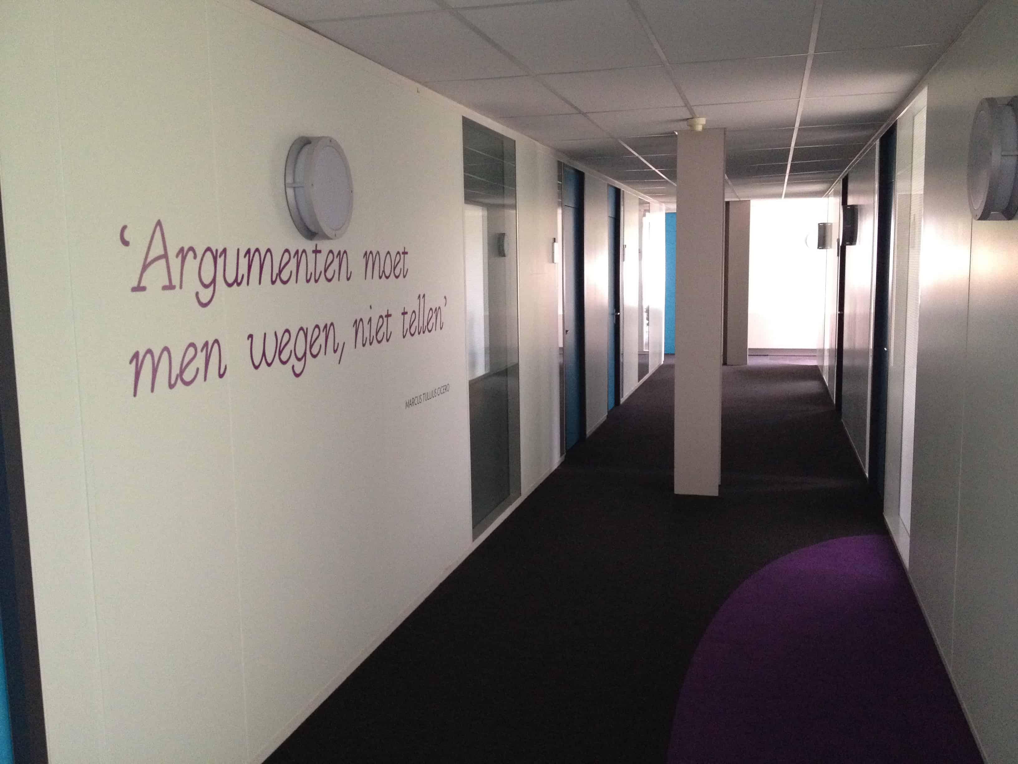 argumenten vergaderzal