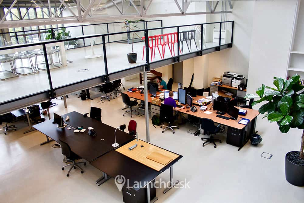 kantoorruimte leiden personen