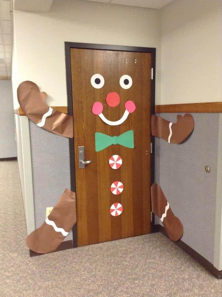deur kerst