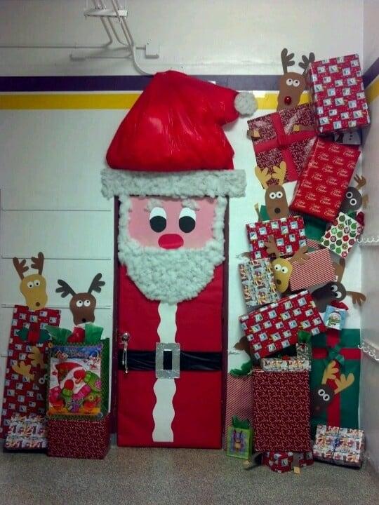 deur kerstman