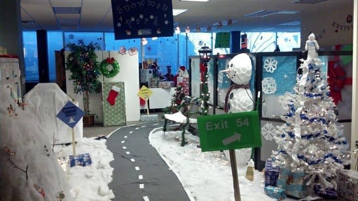 epic kantoor kerst