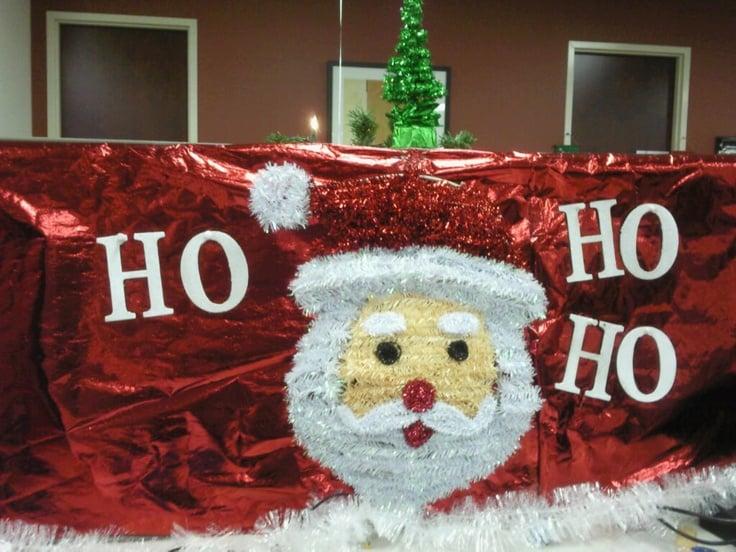 ho ho kerst kantoor