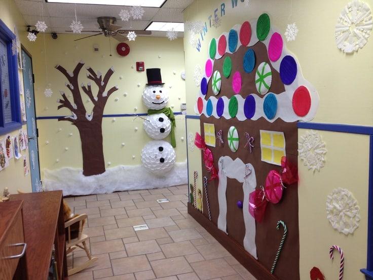 kantoor kerstmis gaaf