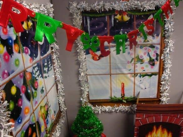 kerst inspiratie kantoor