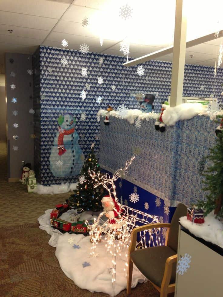 kerst kantoor