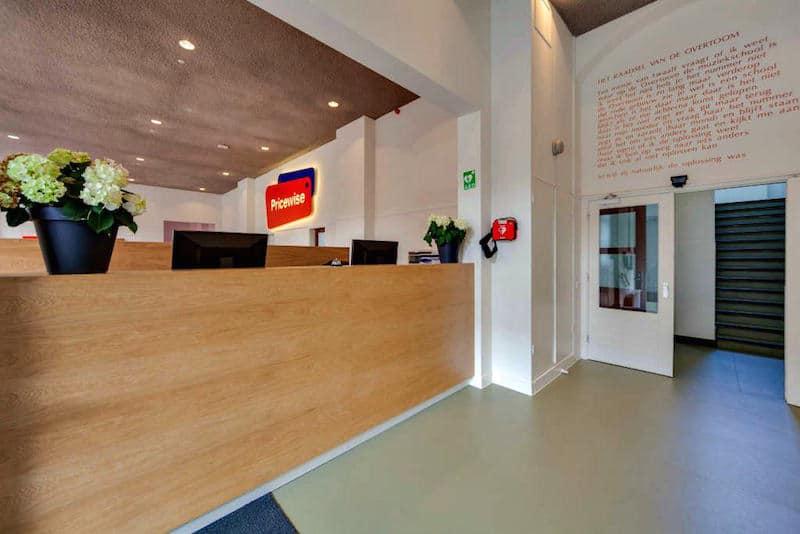 kantoorruimte te huur amsterdam vondelpark receptie