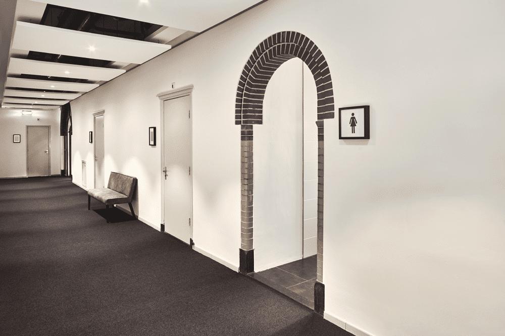 Keurig nette gangen en Algemene ruimten Kantoor Hilversum Een