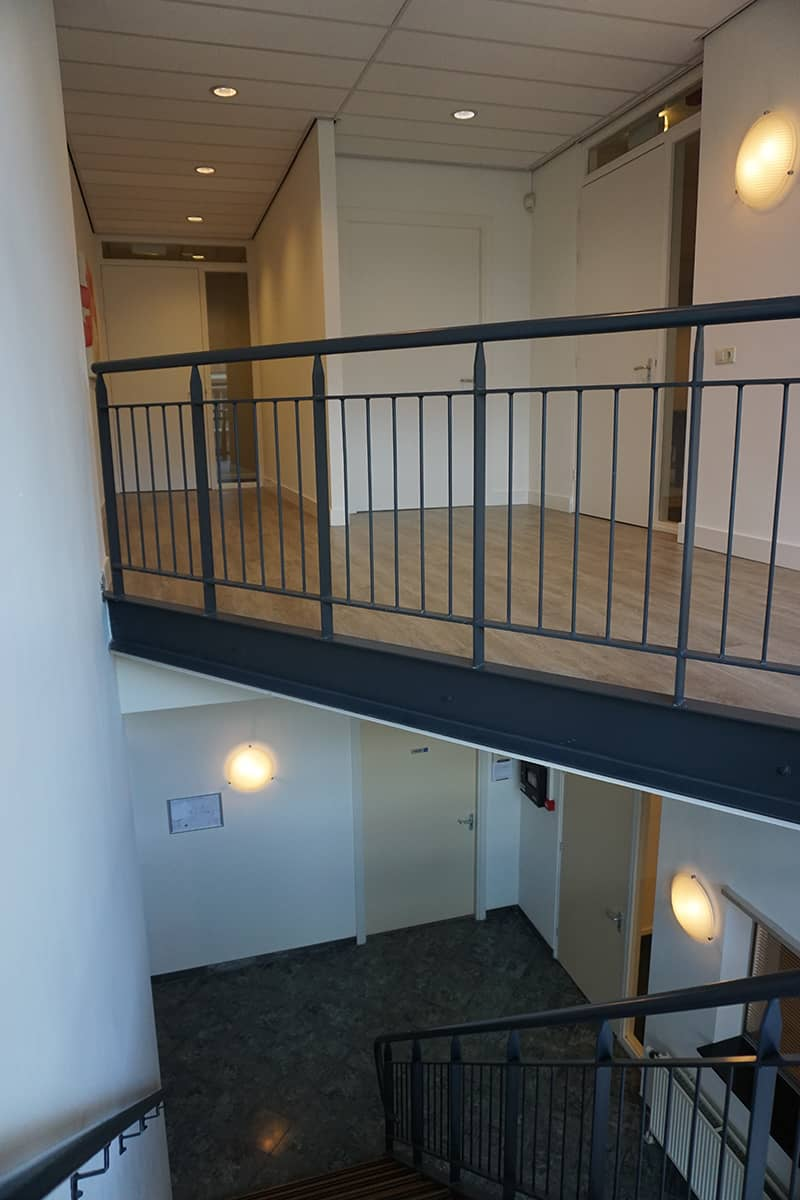 Trap naar boven Bedrijfsverzamelgebouw Kanaalweg 22 Utrecht