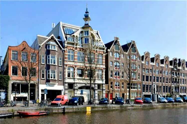 prachtig statig grachtenpand te huur aan de prinsengracht amsterdam