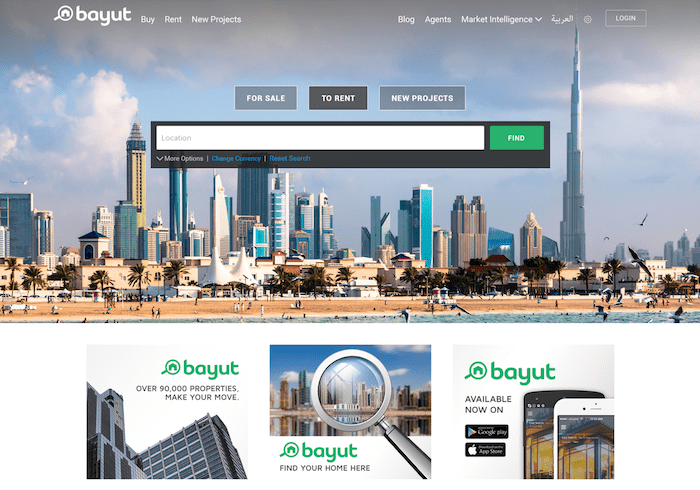 Bayut_Home_page